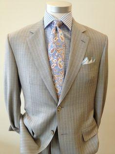 Ravazzolo Suit Robert Talbott Tie Robert Talbott Dress Shirt Dolcepunta Square