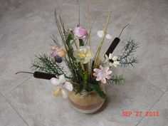 shell bouquet