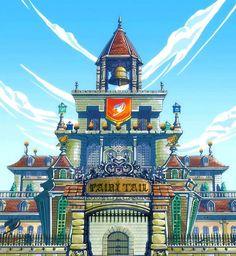 Magnolia Town – Fairy Tail Wiki, the site for Hiro Mashima's manga and anime series, Fairy Tail. Anime Fairy Tail, Fairy Tail Funny, Fairy Tail Ships, Erza Scarlet, Erza Et Jellal, Image Fairy Tail, Fairy Tail Characters, Fairy Tail Couples, Love Fairy