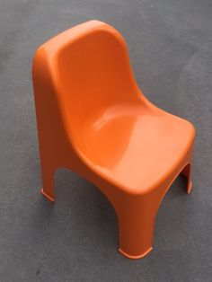 Retro Orange Child Chairs Suitable for ages Easily Stackable for transporting Kids Party Tables, Kid Table, Adjustable Height Table, Baby Chair, Party Hire, Colorful Chairs, Little People, Table And Chairs, Orange