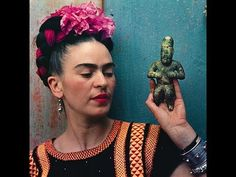 Frida Kahlo brief biography and paintings/ great for kids and esl
