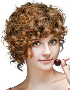 Model Rambut Keriting Wanita Model Rambut Pendek Rambut Keriting Alami Potongan Rambut Pendek Ide Potongan Rambut
