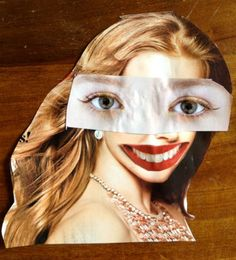 Magazine Collage faces - Art Project
