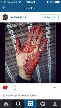 Unique color pattern for #mehendi #heena
