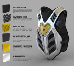 Adidas adiSkorp gear by Njegos Lakic, via Behance