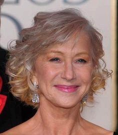 Mother of the Bride hairstyle - Helen Mirren. Description from pinterest.com. I searched for this on bing.com/images