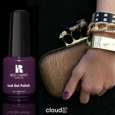 Nine Inch Nails from @Red Carpet Manicure - Reveal your darker side with this stunning at home Gel Polish that lasts for up to 2 weeks!