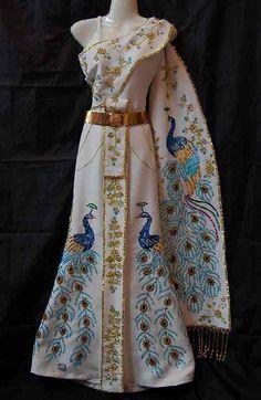 1000 ideas about thai wedding dress on pinterest thai for Laos wedding dress for sale
