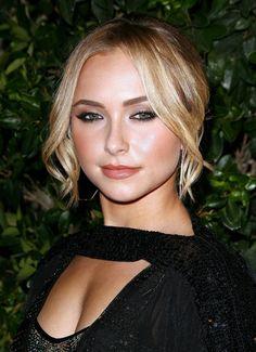 Love the makeup and hair! Girl Celebrities, Hollywood Celebrities, Beautiful Celebrities, Beautiful Actresses, Beautiful Women, Celebs, Beautiful People, Blond, Lauren London
