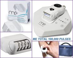 NEW Me TOTAL My Elos 2014 Pro Ultra IPL QUARTZ Hair Removal+Epilator Cartridge + me TOTAL Precision Adaptor - targeted application for small and hard to treat areas + Carrying Bag #Syneron