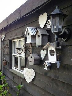 Are you looking garden shed plans? I have here few tips and suggestions on how to create the perfect garden shed plans for you. Lifetime Tent Trailer, Bird Houses Painted, Painted Birdhouses, Bird Boxes, Shed Plans, Dream Garden, Yard Art, Garden Projects, Garden Inspiration
