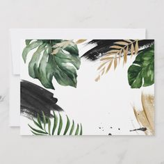Shop Modern tropical abstract painted wedding save the date created by paper_petal. Wedding Save The Dates, Save The Date Cards, Modern Tropical, Belle Photo, Painting Inspiration, Watercolor Art, Birthday Cards, Country Engagement, Fall Engagement