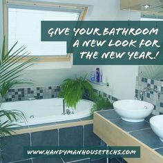 Tired of your bathroom? Let #HandymanHouseTechs give it the facelift you always wanted! (228) 297-0063 #Renovation #NewYear #Bathroom #Remodel #Handyman #GulfportMS #SoMobile