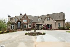 $1,590,000 | Gorgeous estate in Five Forks near #GreenvilleSC! Nearly 8,000sf on 12.3 acres! Backyard oasis included! #homeforsale #remax