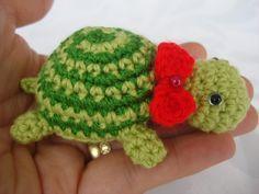 CANAL CROCHET: Amigurumi tortuga pequeñita