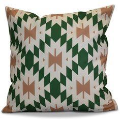 Soluri Geometric Throw Pillow