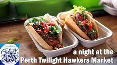 Night at the Twilight Hawkers Market #Perth  #TwilightHawkersMarket #HawkersMarket #food #eat