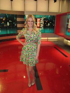 Ashlan Gorse wearing Amanda Christine on E! News!