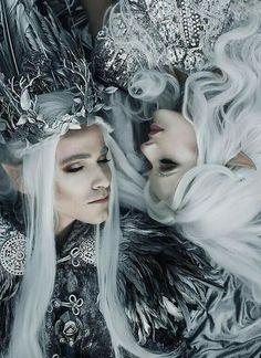Beautiful Feminine Photo Portraits By The Russian Fashion Photographer Svetlana Belyaeva Dark Fantasy Art, Foto Fantasy, Fantasy Kunst, Fantasy World, Beautiful Fantasy Art, Story Inspiration, Character Inspiration, Art Goth, Illustration Fantasy