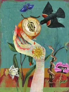 Beautiful free inspirational art by Olaf Hajek