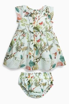 Buy Mint Printed Prom Dress (0mths-2yrs) online today at Next: United States of America