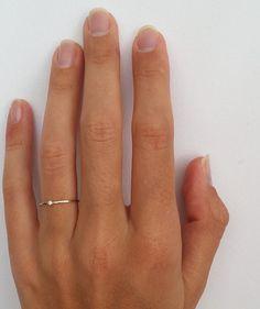 SALE Diamond Ring, Delicate Diamond Engagement Ring, Thin Diamond Stacking Ring, Gold Diamond, H Rose Gold Engagement Ring, Engagement Ring Settings, Diamond Wedding Bands, Simple Diamond Ring, Diamond Stacking Rings, Bridal Rings, Wedding Rings, Zierlicher Ring, Wedding Ring Sets Unique