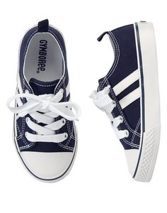 Striped Sneakers at Gymboree (Gymboree 4-10) [because every kid needs a pair of sneakers :) ]