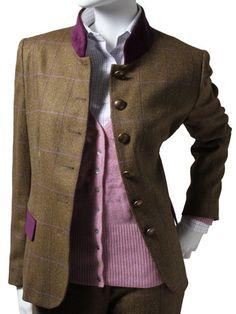 ! Ladies Ladies Tweed Jacket, Heather Tweed - William Evans Ltd Traditional Ladies Ladies Tweed Jacket, Heather Tweed & Shooting Clothing of Distinction