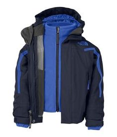 Buy Nimbostratus Triclimate Jacket (2T-4T) Boys Outerwear from The North Face. Find The North Face fashions & more at DrJays.com