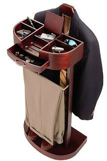 Jeri's Organizing & Decluttering News: Care for Your Clothes with a Valet Stand.