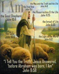 Scripture Verses, Bible Scriptures, Scripture Journal, Jesus Quotes, Bible Quotes, Biblical Quotes, Portrait Studio, Saint Esprit, The Good Shepherd