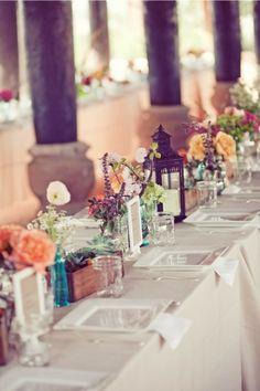 Wedding table #Table #Deco #Wedding
