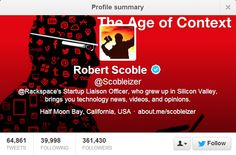 Top 10 People To Follow On Twitter For Technology News and Updates @Robert Scoble