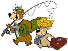 Who was Yogi Bear's little friend in the TV cartoon series?