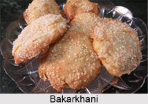 Bakarkhani is a thin and spiced flat bread which is a traditional evening snack of Kashmir. It is generally served with Kahwah or Sheer Chai. Tourists are very fond of this combination. For the recipe visit the page. #kashmir #food #vegetarian