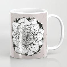 Floral Tattoo Mug