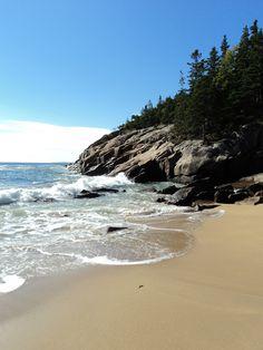 Sand Beach, Bar Harbor, Maine