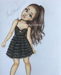 @agmyqueen Ariana Grande drawing
