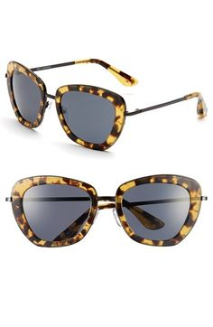These are so Me!   Isaac Mizrahi New York 53mm Geometric Sunglasses available at #Nordstrom