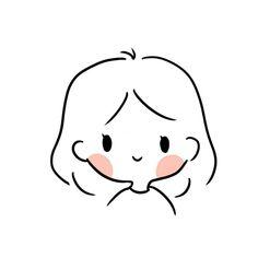 Aesthetic Drawing, Aesthetic Anime, Aesthetic Art, Cartoon Art Styles, Cute Art Styles, Kawaii Drawings, Easy Drawings, Stylo Art, Minimalist Drawing