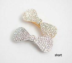 Kleidung Accessoires Haarschmuck Coraline Dragonfly Hair Clip Pin Bow Cubic Zirconia Gems Anamed Uz