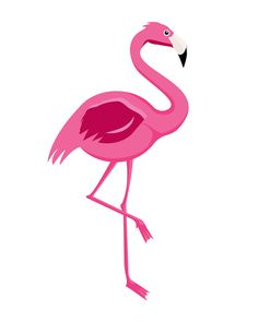 Flamingo Print Pink Printable Flamingo Flamingo por ColorLab2016