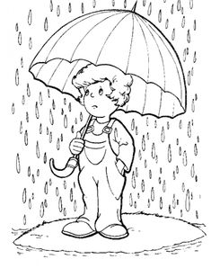 Rain Coloring Pages Free Online Printable Sheets For Kids Get The Latest Images Favorite To Print