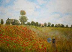 Replikat von Claude Monet, gemalt von Kunstmaler Josef Biehler.