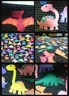 Dinosaur Door Decs! RA