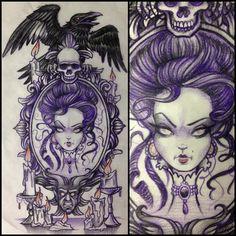LOVE THIS!!! Magic Mirror - Eno - Guru Tattoo