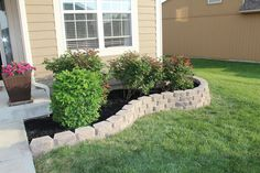 SUBURBAN Spunk*: Our DIY Retaining Wall