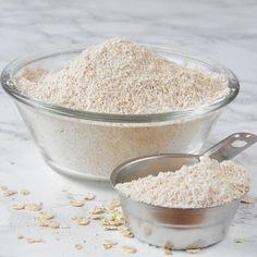 Så gör du nyttigt havregrynsmjöl. (Använd ren havre för garanterat glutenfritt). Scones, Homemade, Ren, Food, Home Made, Essen, Meals, Yemek, Hand Made