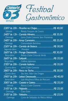 Comissão organizadora do aniversário de Cianorte se reúne com integrantes do Festival Gastronômico