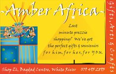 Art Handcraft in White River Bagdad, Africa Art, Amber, Arts And Crafts, Twitter, Gifts, Shopping, African Art, Presents